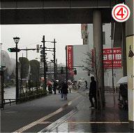 玉川通り(二子玉川駅前付近)